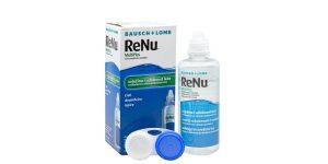 solutie intretinere lentile de contact renu